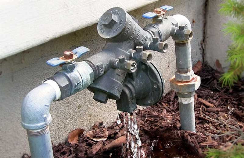 Backflow prevention testing