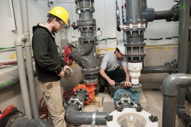 Industrial & commercial plumbing services