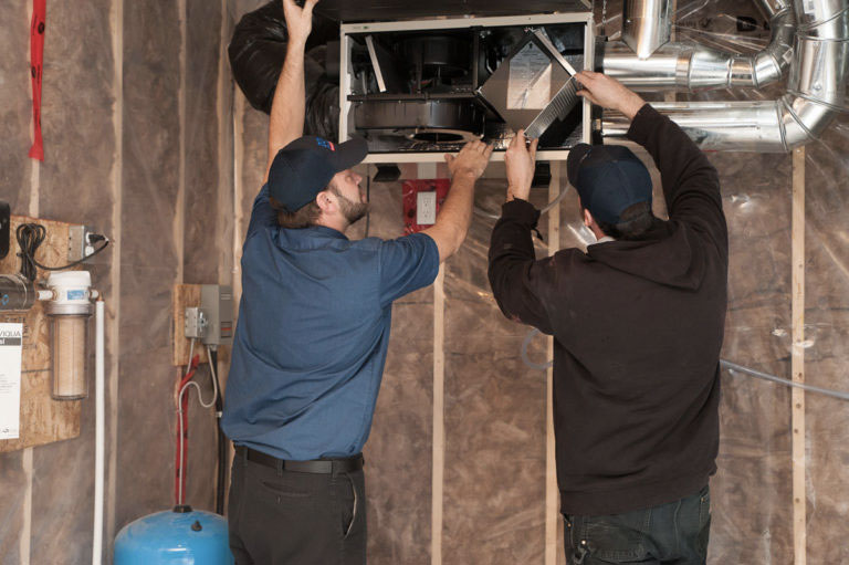 Plumbing & HVAC maintenance services